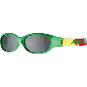 Alpina Sports Flexxy Glasses Kids green-puzzle
